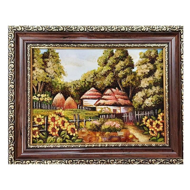 Пейзаж из янтаря Лесной Хутор
