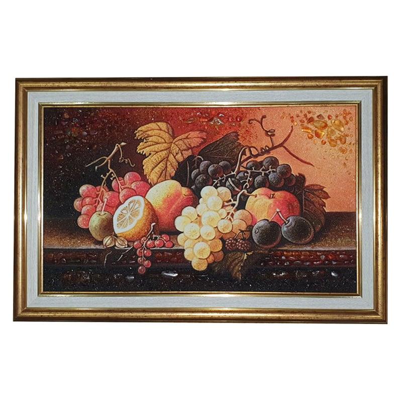 Картина янтаря Фруктовый Натюрморт