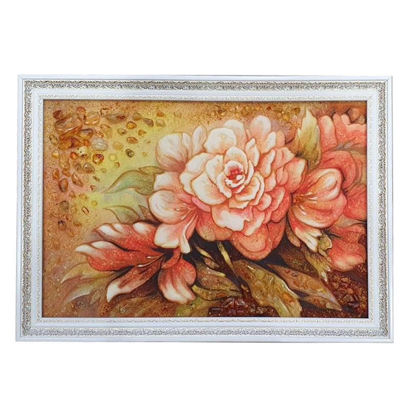 Пейзаж из янтаря Розовая Магнолия