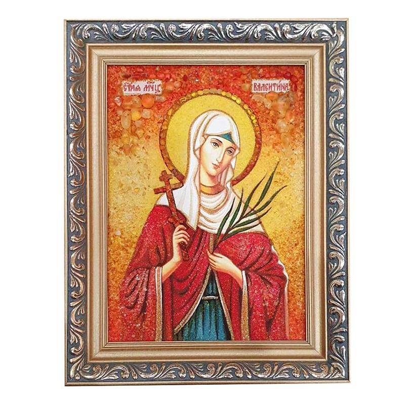 Іменна ікона свята великомучениця Валентина Кесарійська