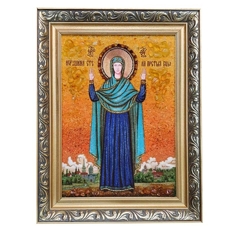 Ікона з бурштину Непорушна Стіна