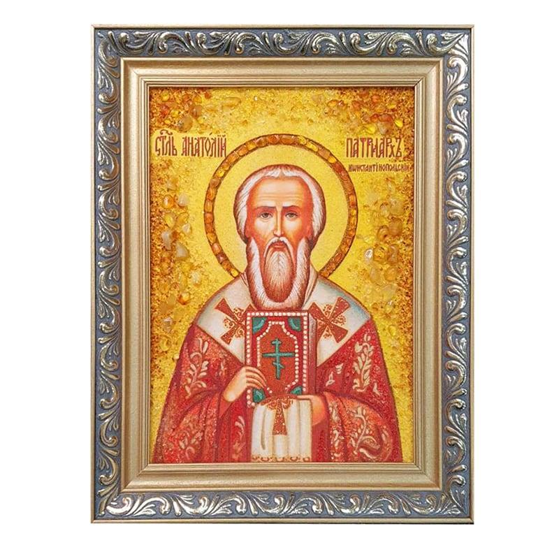 Именная икона Святой Патриарх Анатолий Никейский