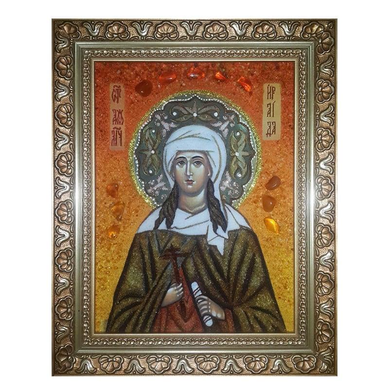 Ікона Янтар Свята мучениця Іраїда (Раїса) Олександрійська