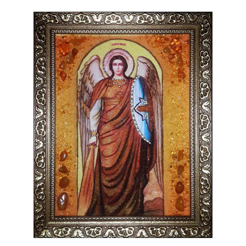 Ікона Янтар Архистратиг Михаїл