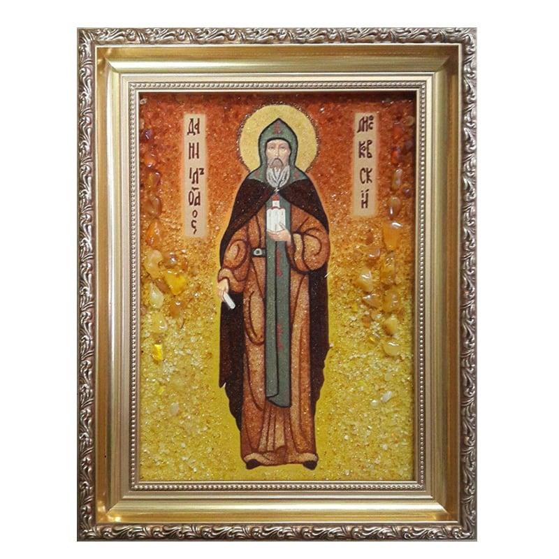 Ікона Бурштин Святий Пророк Данило
