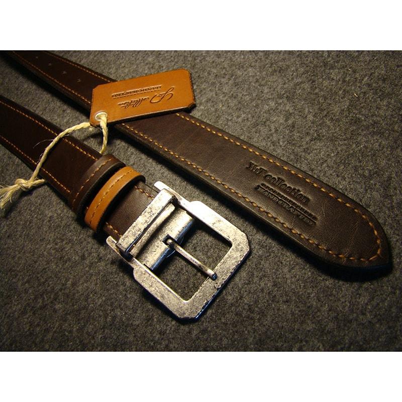 Ремень кожаный handmade Dual