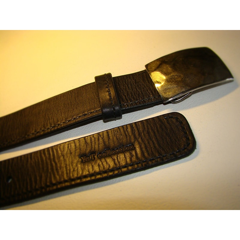 Ремень кожаный handmade