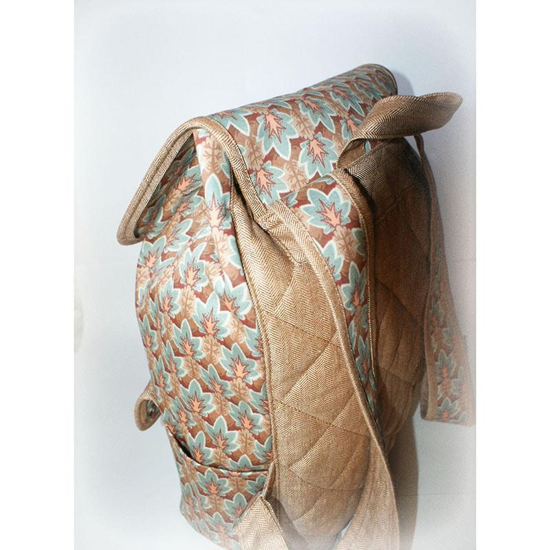 Текстильный женский рюкзак Lyubava Стильный желудь