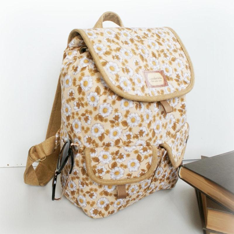 Женский рюкзак в подарок Lyubava Ромашки (мини)