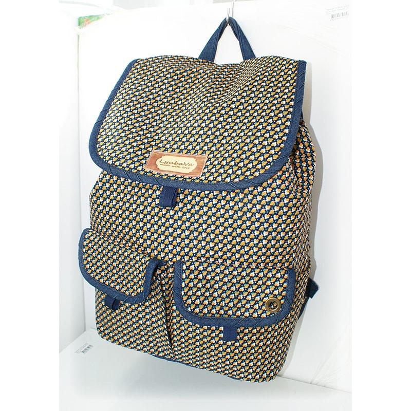 Женский рюкзак в подарок Lyubava Милый узор