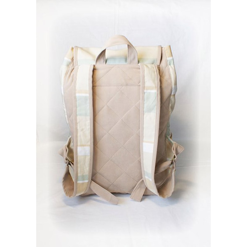 Дизайнерский рюкзак хэнд мейд Lyubava Полосы