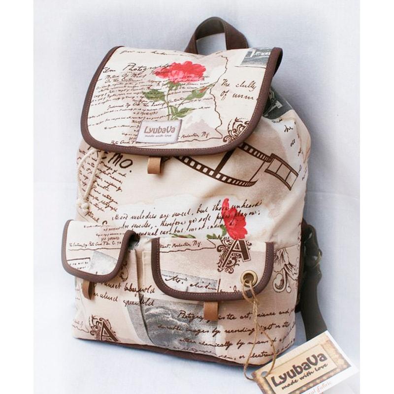 Рюкзак в подарунок Lyubava листи в Париж