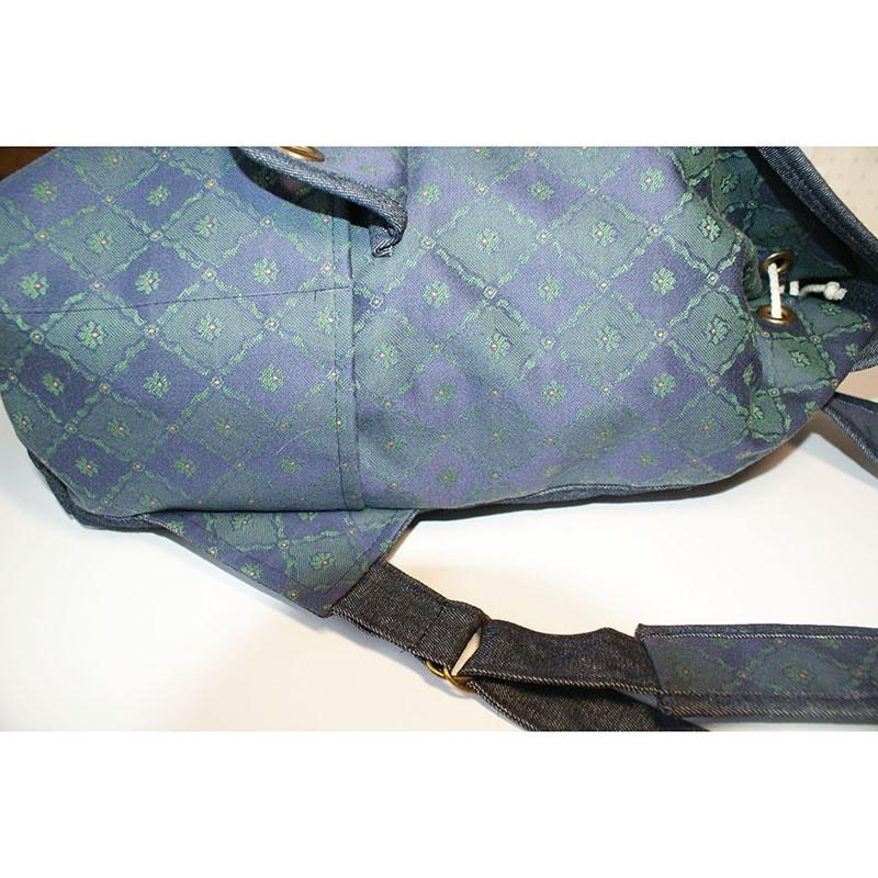 Авторський жіночий рюкзак Lyubava Джинсовий Жаккард
