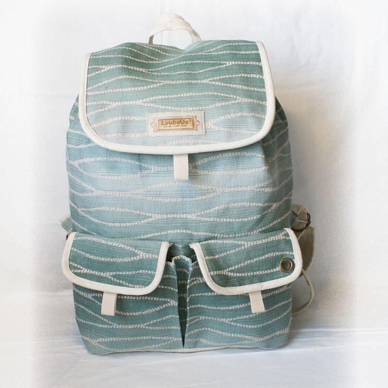 Рюкзак жіночий текстильний Lyubava Хвилі умиротворення