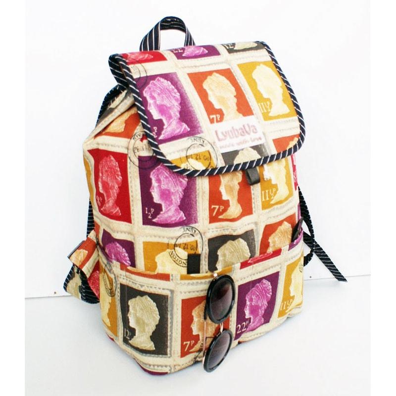 Яскравий жіночий рюкзак Lyubava Марки
