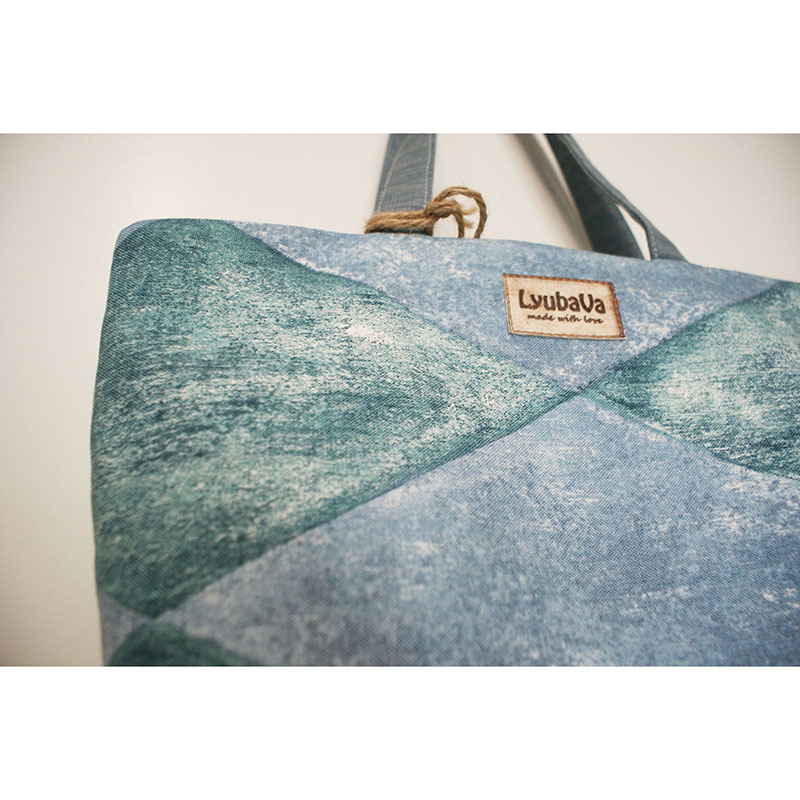 Сумка жіноча handmade Lyubava Ментол