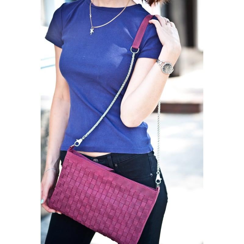 Сумка жіноча ручної роботи Vinous Leather