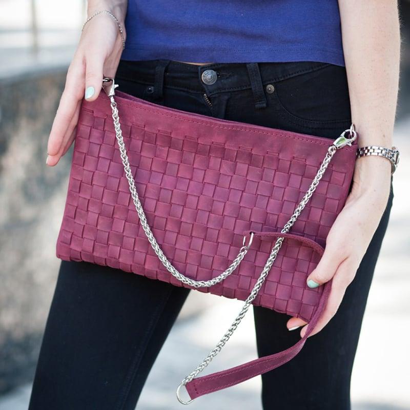 Сумка женская ручной работы Vinous Leather