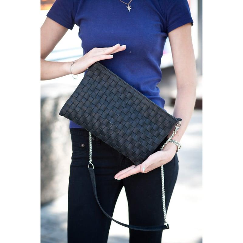 Сумка женская Handmade Black Leather