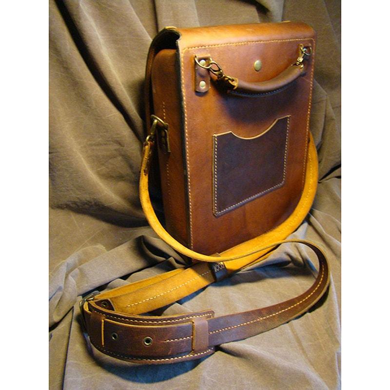 Кожаная сумка унисекс Stalker