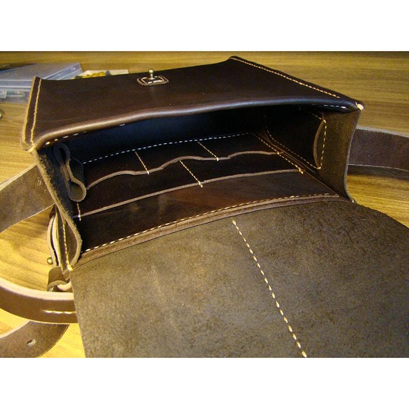 Мужская кожаная сумка Trend