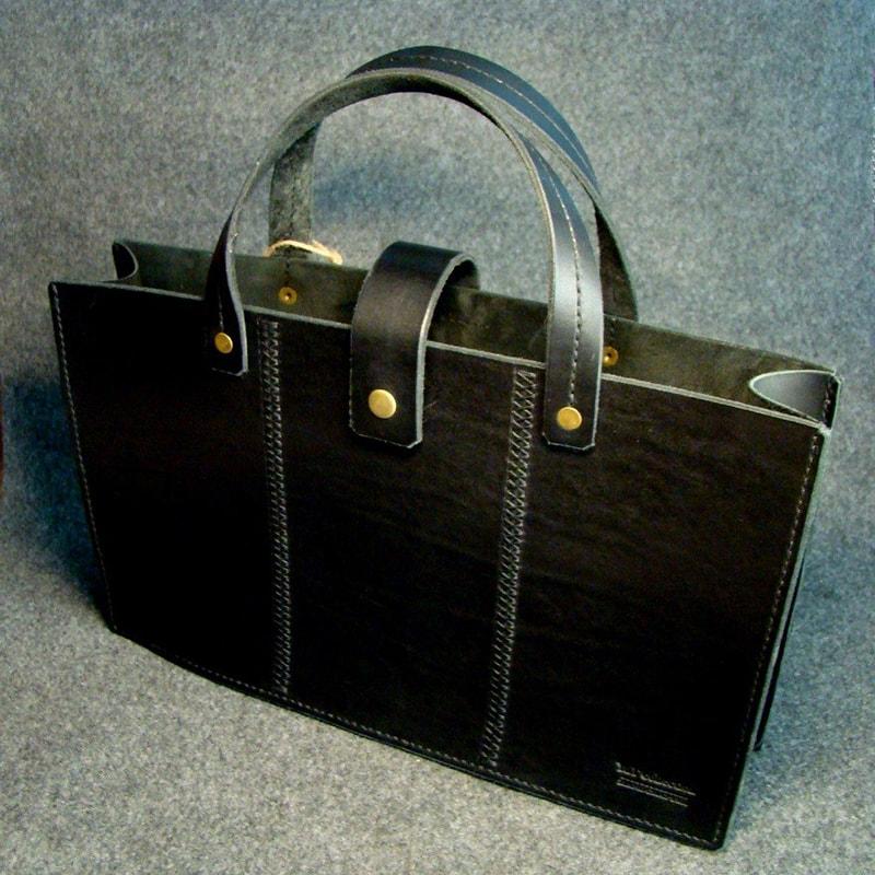 Шкіряна сумка Satchel