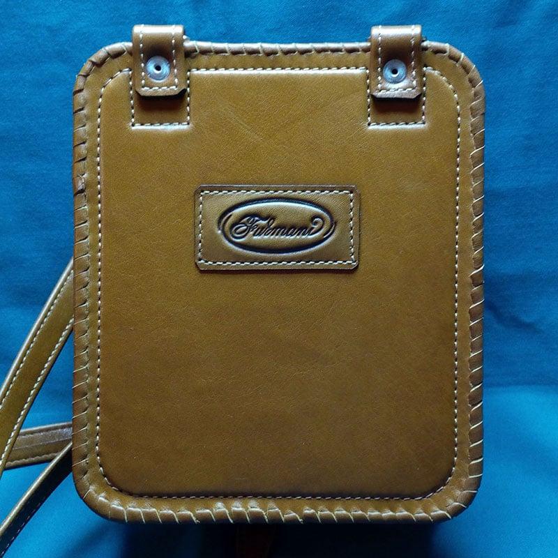 Шкіряна сумка ручної роботи в подарунок Витончена лисиця