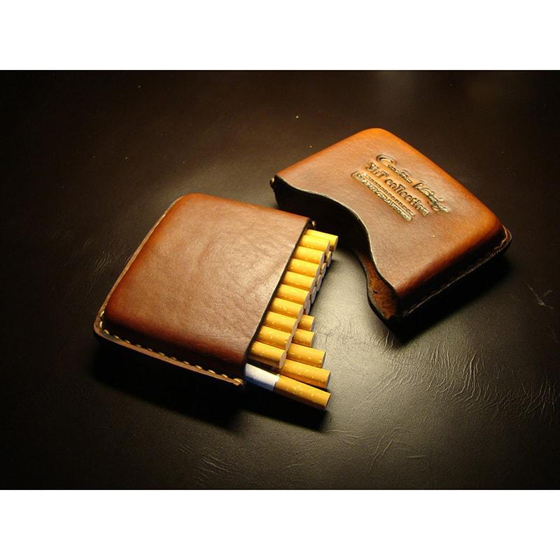 Шкіряний портсигар handmade