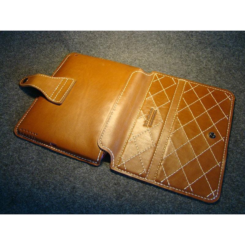 Чехол кожаный для iPad (под вашу модель)