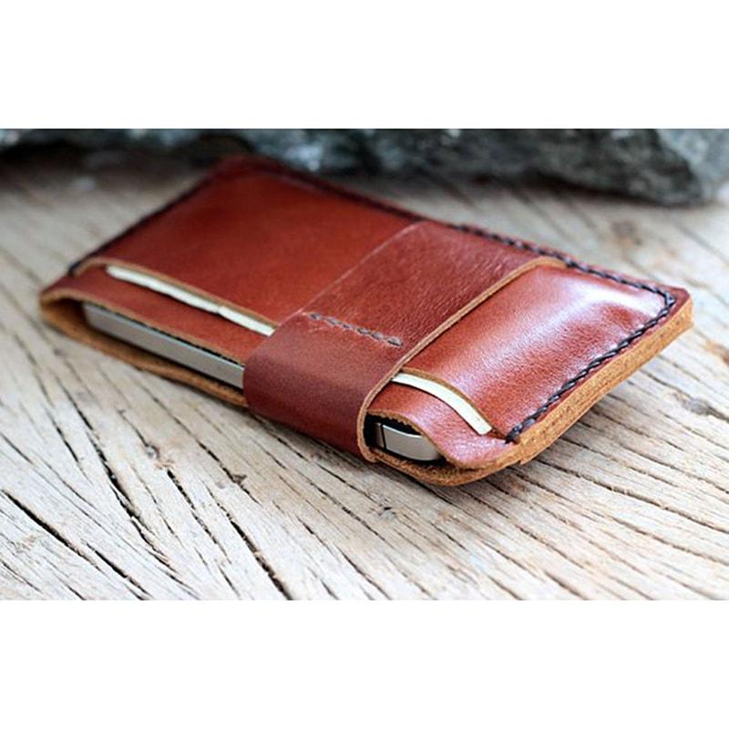 Чехол для iPhone (все модели) кожаный