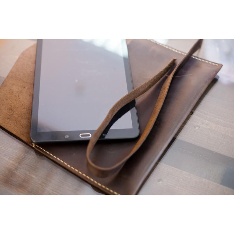 Сумка кожаная в подарок для Планшета Crazy Horse leather
