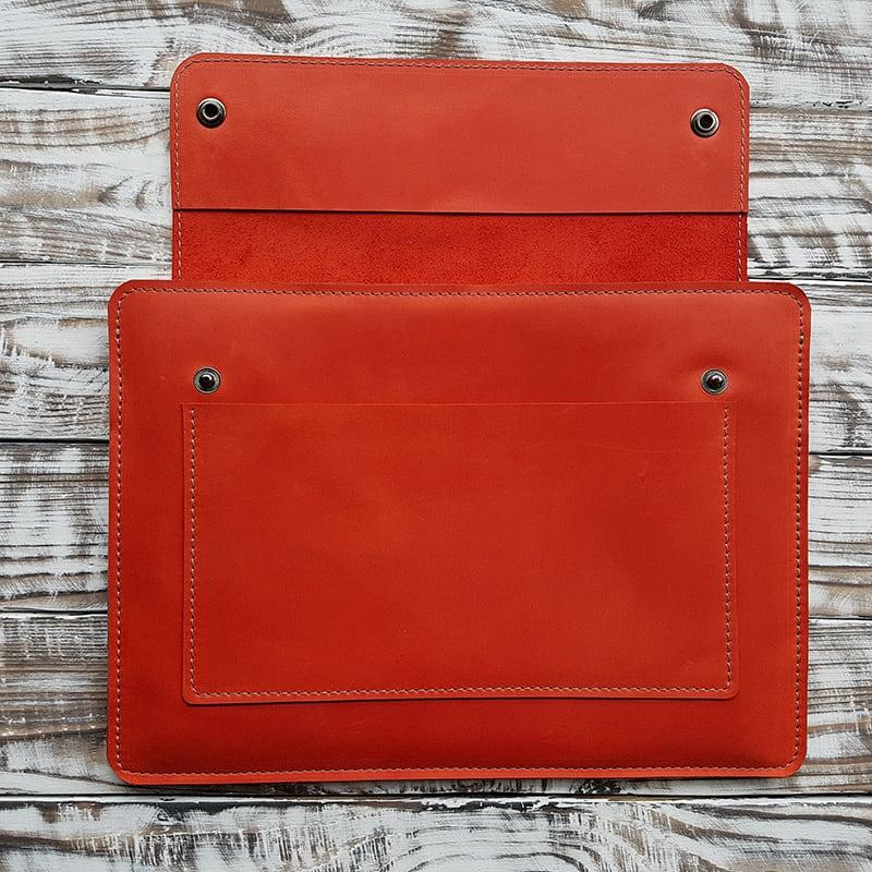 Чохол на планшет ручної роботи Atacama Red Leather