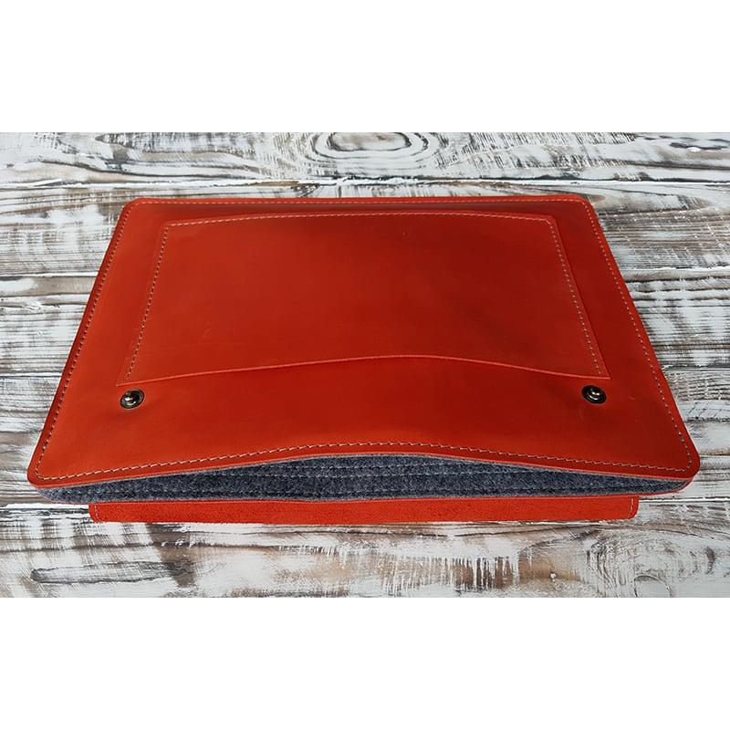 Чехол на планшет ручной работы Atacama Red Leather