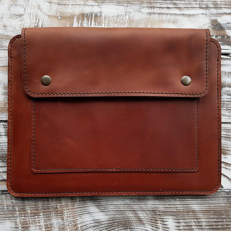 Чехол кожаный для планшета Gobi Brown Leather