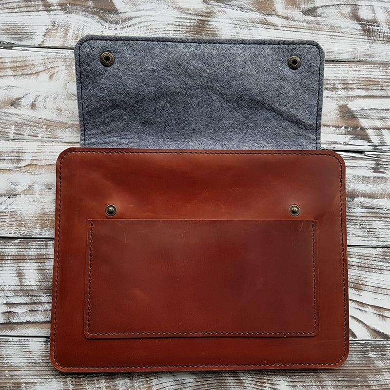 шкіряний Чохол для планшета Gobi Brown Leather
