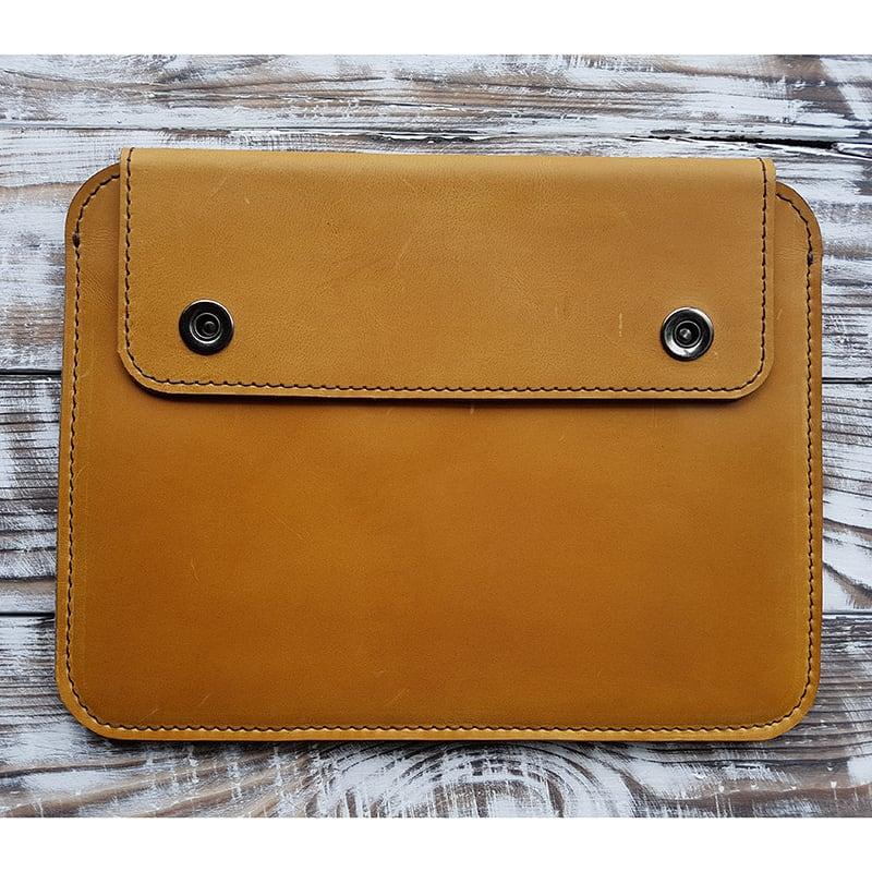 Захисний чохол для планшета Karakum Yellow Leather