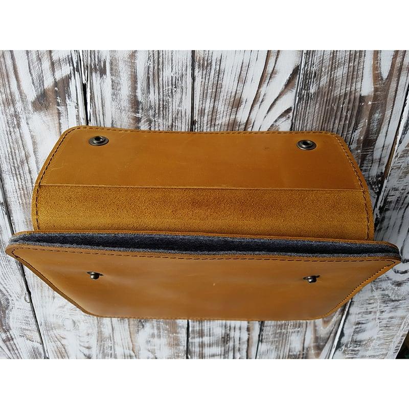 Защитный чехол для планшета Karakum Yellow Leather