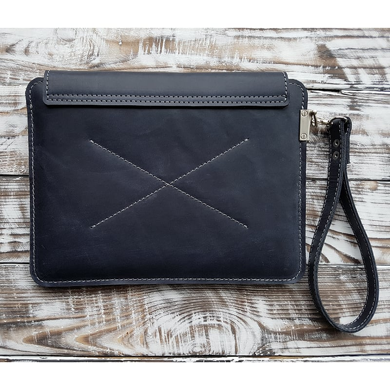 Авторський чохол для планшета Namib Black Leather