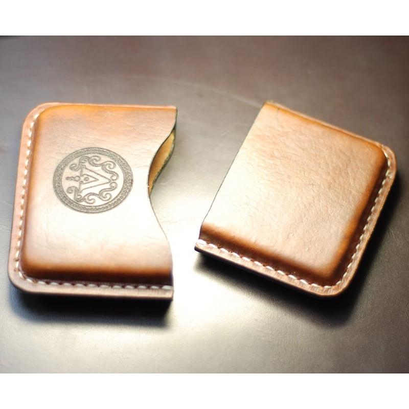 Кожаный портсигар Cigarette case brown leather
