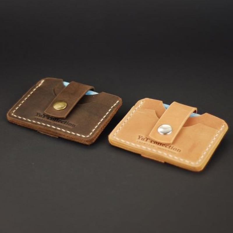 Набор кожаных картхолдеров Сonvenience brown leather