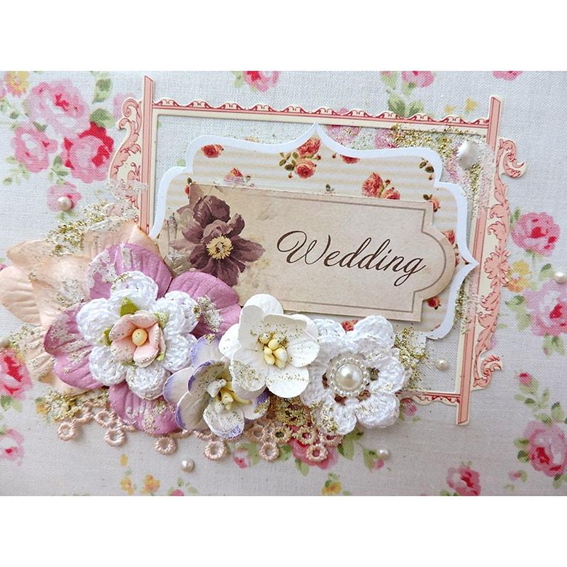 Авторский свадебный фотоальбом Wedding