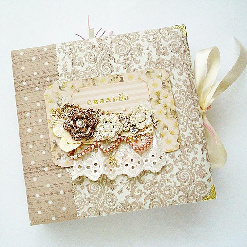 Свадебный фотоальбом в подарок Свадьба