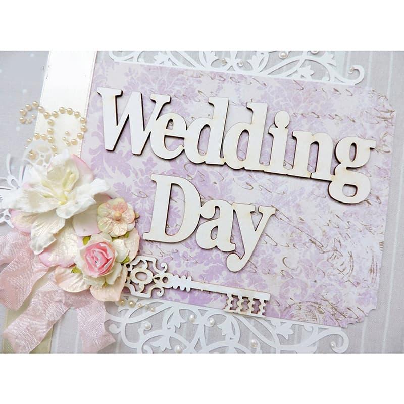 Фотоальбом в подарок молодоженам Wedding Day