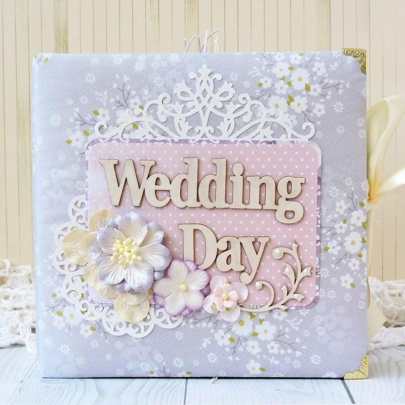 Весільний альбом для подарунка молодятам Wedding