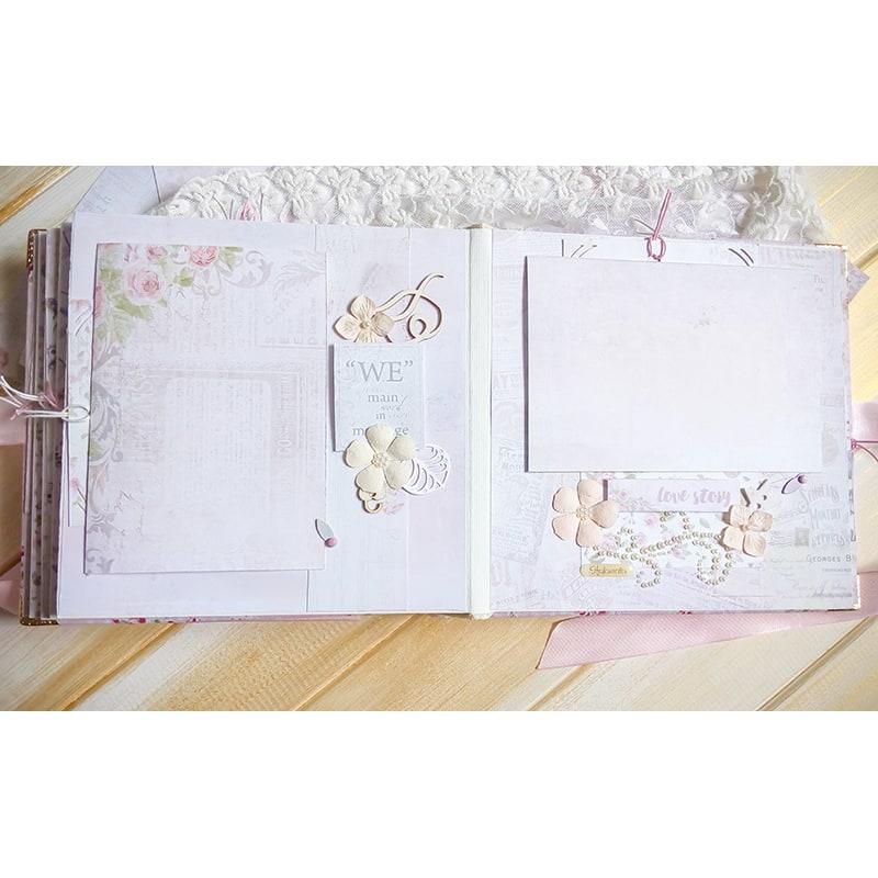Свадебный фотоальбом скрапбукинг Вместе Навсегда