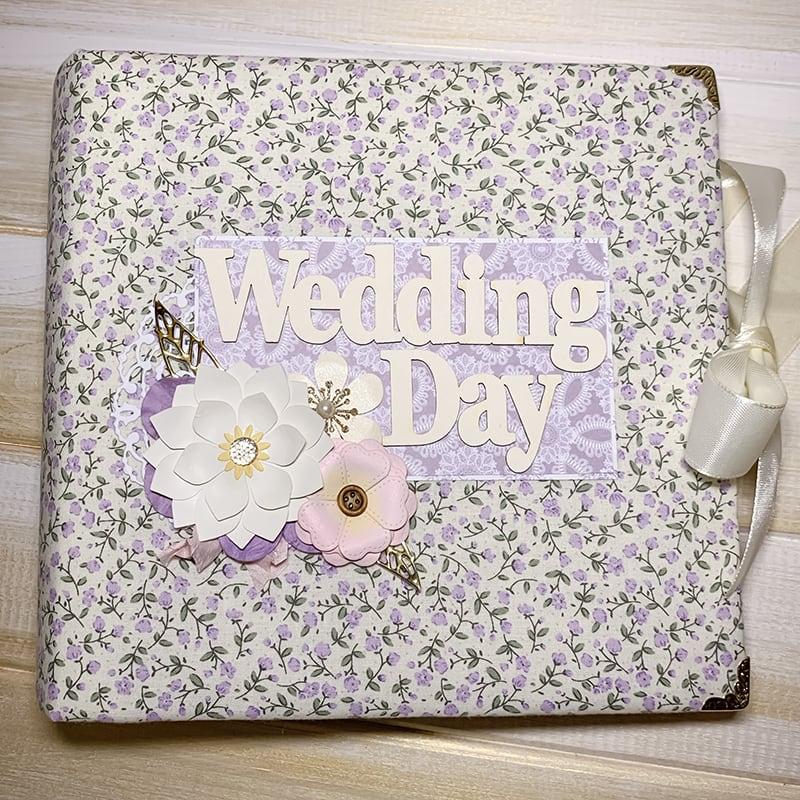 Свадебный фотоальбом в подарок Wedding Day