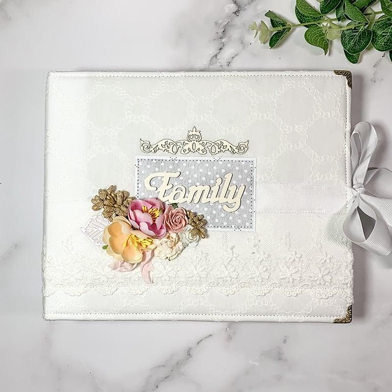 Семейный скрапбукинг альбом Family