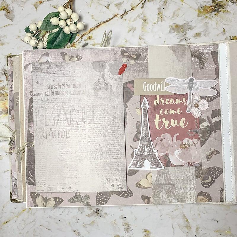 Весільний скрапбукінг альбом Love Story