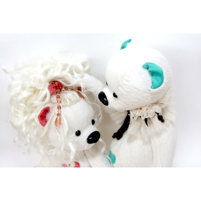 Дизайнерская игрушка в подарок Мишка Эндрю