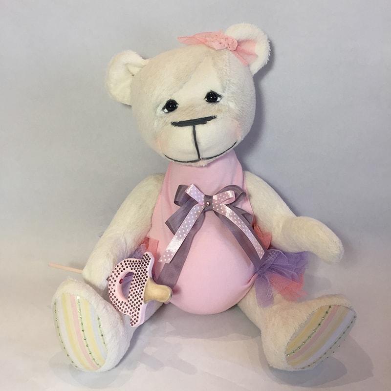 Дизайнерская кукла в подарок Мишка Амалия
